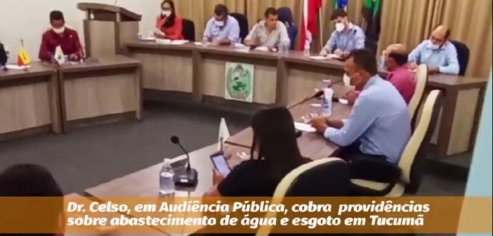 Prefeitura cobra providências sobre abastecimento de água e esgoto no município